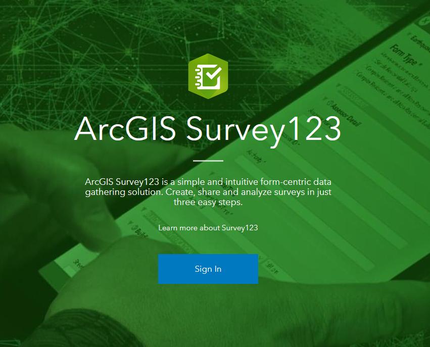 Configuring Survey123 with Enterprise GIS